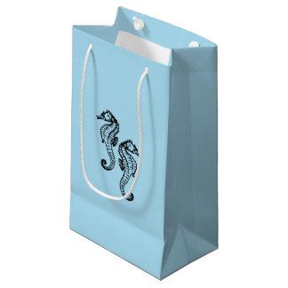 タツノオトシゴの青 スモールペーパーバッグ