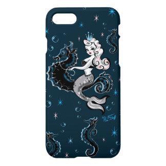 タツノオトシゴのIphoneの場合のPearlaの人魚 iPhone 8/7 ケース