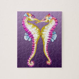 タツノオトシゴは紫色に接吻します ジグソーパズル