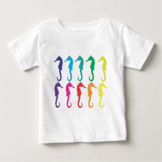 タツノオトシゴ ベビーTシャツ