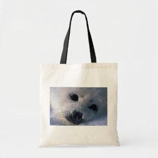 タテゴトアザラシ子犬 トートバッグ