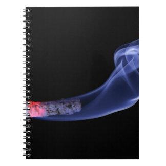 タバコの煙 ノートブック