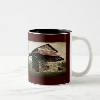 タバコの納屋 ツートーンマグカップ