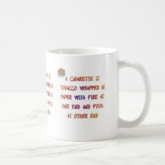 タバコは…あります コーヒーマグカップ
