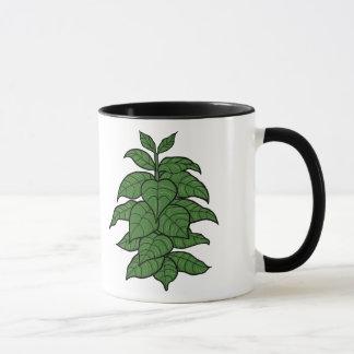 タバコ植物のマグ マグカップ