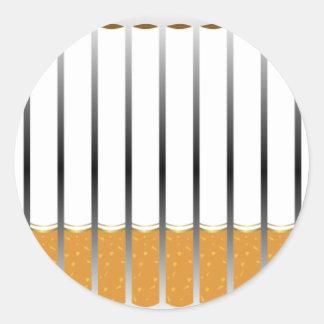 タバコ ラウンドシール
