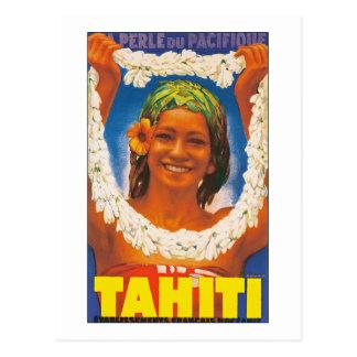 タヒチの~ La Perle du Pacifique ポストカード