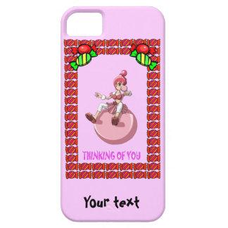 タフィーとのBetsyのbubblegum iPhone SE/5/5s ケース