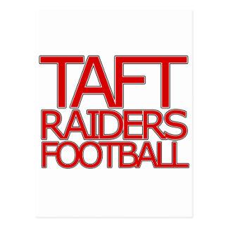 タフトの侵入者のフットボール-サン・アントニオ ポストカード
