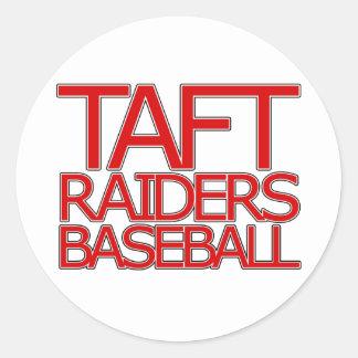 タフトの侵入者の野球-サン・アントニオ ラウンドシール