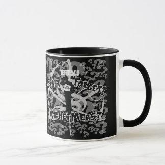 タブーのAlzheimer 11ozの認識度のコーヒー・マグ マグカップ