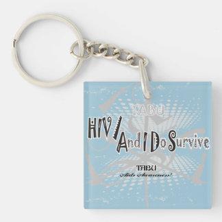 タブーHIV/Aidsの認識度のキーホルダー キーホルダー