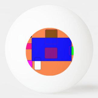 タブ-抽象美術 卓球ボール