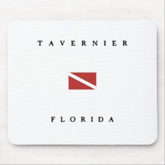タベルニエフロリダのスキューバ飛び込みの旗 マウスパッド