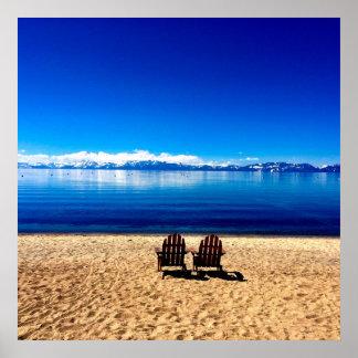 タホ湖の待っている夏 ポスター