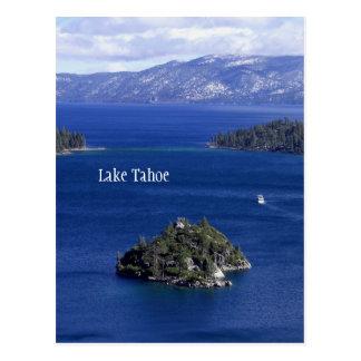 タホ湖の郵便はがき ポストカード