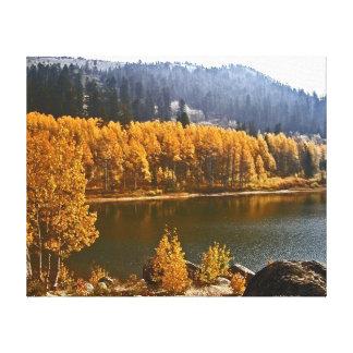 タホ湖ネバダの景色のキャンバスのプリント キャンバスプリント