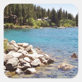 タホ湖ネバダ スクエアシール