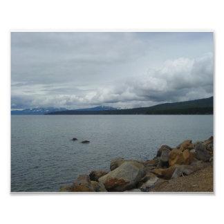 タホ湖 フォトプリント