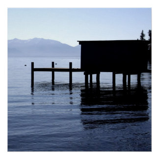 タホ湖 ポスター