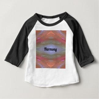 タマキビのモモの芸術的な調和 ベビーTシャツ