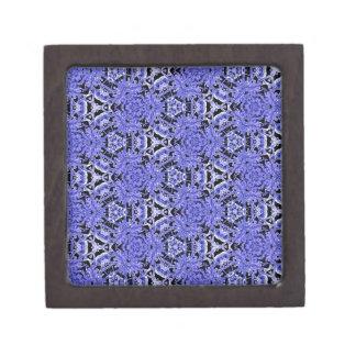 タマキビの紫色のはっきりしたモダンで幾何学的なパターン ギフトボックス