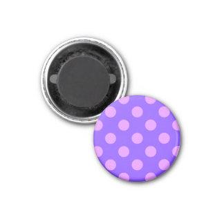 タマキビの薄紫の水玉模様 マグネット