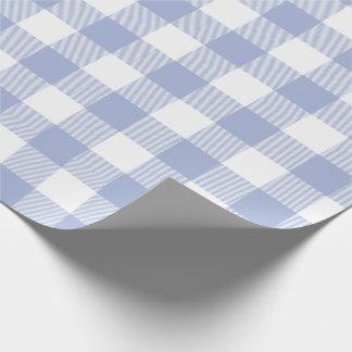 タマキビの青いバッファローの点検パターン ラッピングペーパー