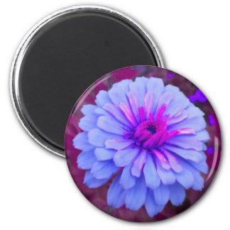 タマキビnのピンクの《植物》百日草の磁石 マグネット