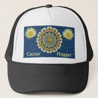 タマサボテンの曼荼羅が付いているサボテンのHuggerの帽子 キャップ