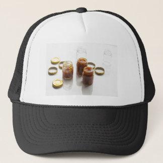 タマネギのパイナップルチャツネの原料およびpreparatio キャップ