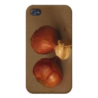 タマネギ及びニンニク iPhone 4 CASE