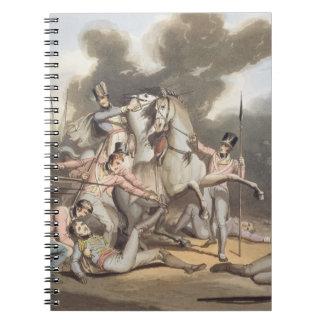 タラベラ、「tの勝利からの1809年7月28日、 ノートブック