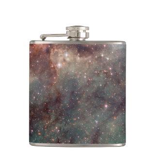タランチュラの星雲のクローズアップ フラスク