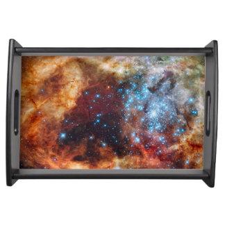 タランチュラの星雲のトレイ トレー