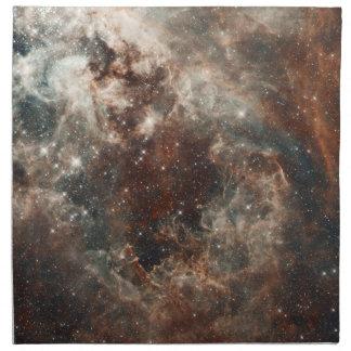 タランチュラの星雲の大きいMagellanic雲のナプキン ナプキンクロス