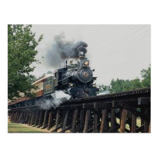 タランチュラの鉄道、フォート・ワース、テキサス州、米国 ポストカード