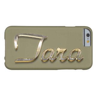 """""""タラ""""のカスタムなモノグラムのiPhone 6/6sの場合 Barely There iPhone 6 ケース"""