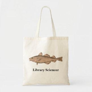タラ-バッグが付いている図書館Sciencer トートバッグ