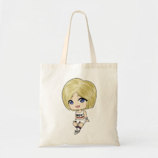 タラHyominの「良い体」のチビ(小さくかわいく書いた感じ)のトートのキャンバスのバッグ トートバッグ