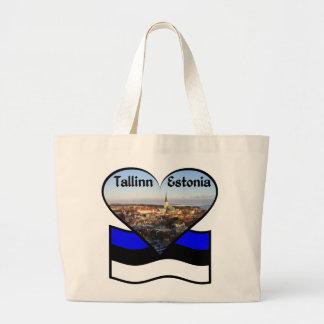 タリンのバッグ ラージトートバッグ