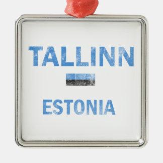 タリンエストニアのデザイン メタルオーナメント