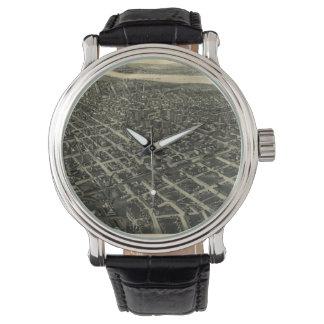 タルサ(1918年)のヴィンテージの絵解き地図 腕時計