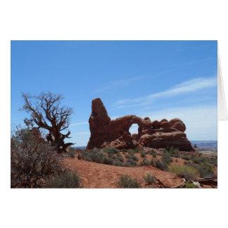 タレットのアーチは国立公園をアーチ形にします カード