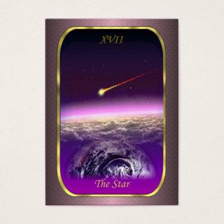 タロットのプロフィールカード-星カード 名刺