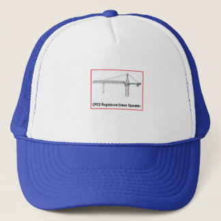 タワークレーンオペレータ帽子 キャップ