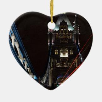 タワー橋はロンドンイギリスヨーロッパをつけます セラミックオーナメント