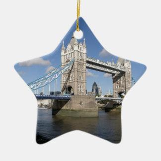 タワー橋ロンドンイギリス セラミックオーナメント