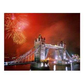 タワー橋ロンドンイギリス ポストカード