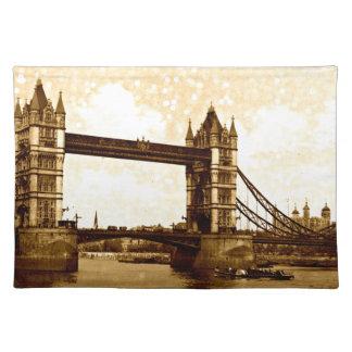 タワー橋ロンドン1900年 ランチョンマット